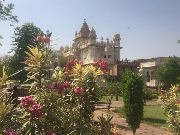 The Jaswant Thada in Jodhpur, Rajasthan, India