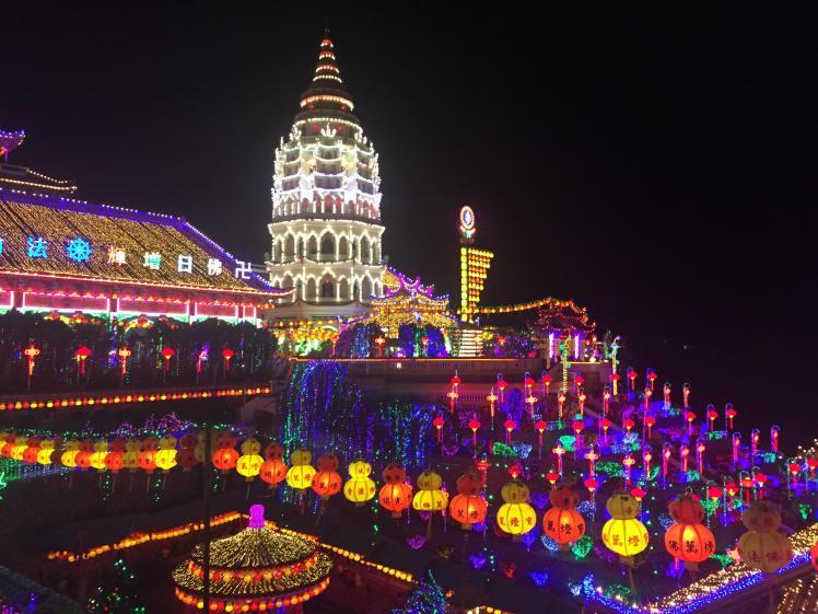 Kek Lok Si Temple in Penang, Malaysia