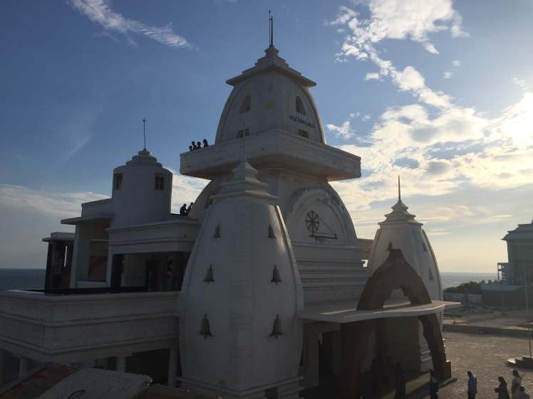 The Mahatma Gandhi Mandapam in Kanyakumari Town, Tamil Nadu, India