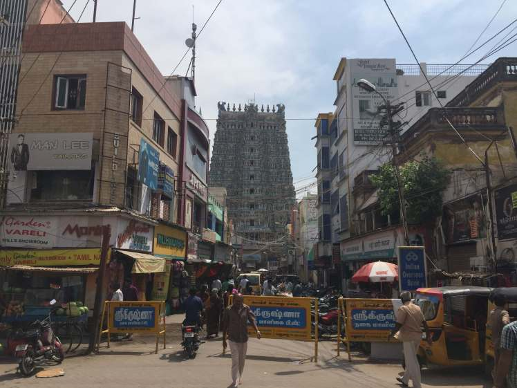 Meenakshi Amman Temple in Madurai, Tamil Nadu, India