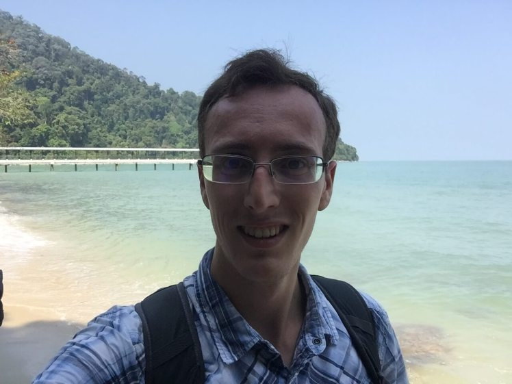 Monkey Beach on Penang Island, Malaysia