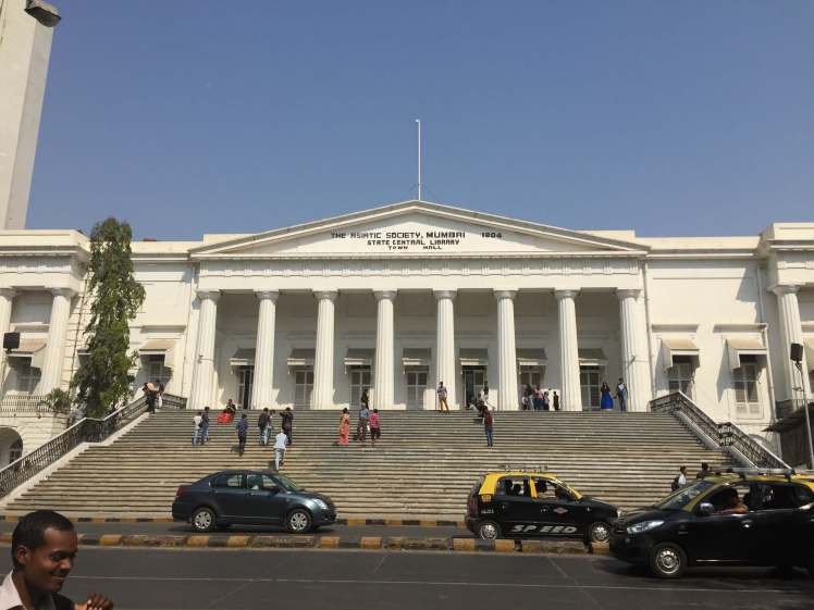 Neoclassical Architecture in Mumbai, Maharashtra, India