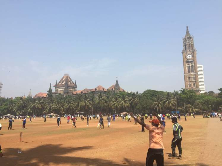 Oval Maidan in Mumbai, Maharashtra, India