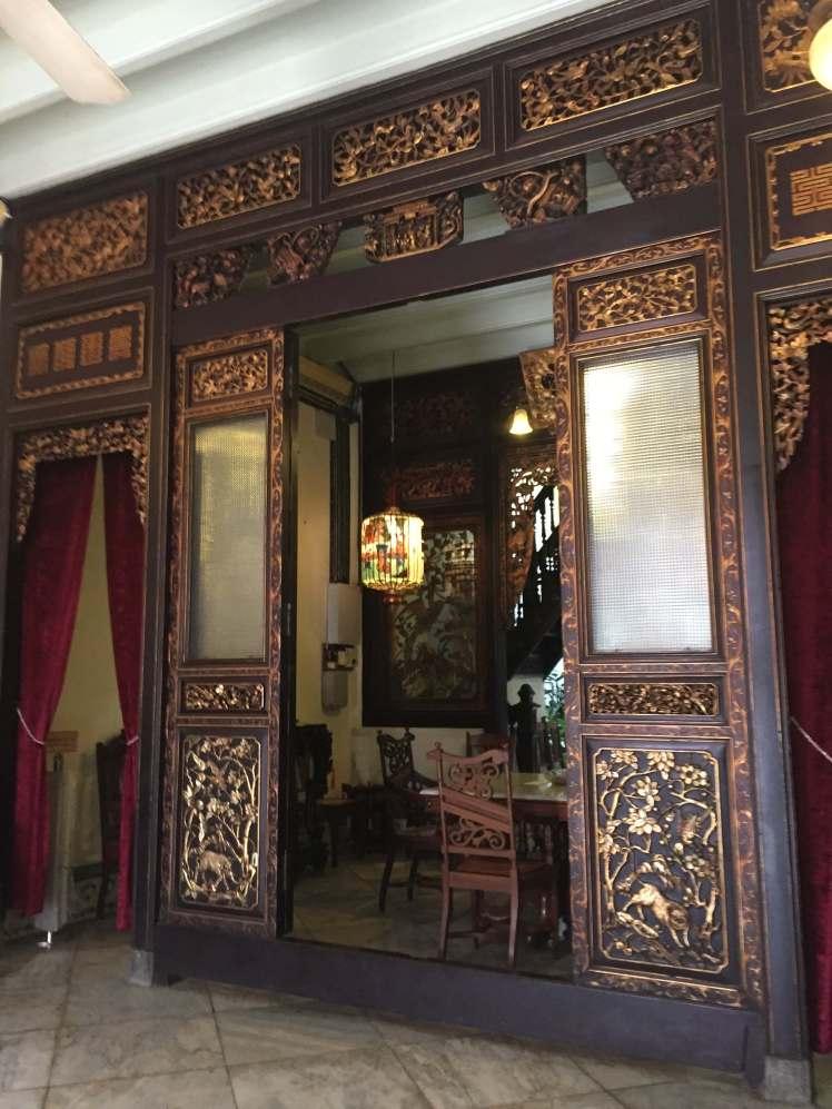 Peranakan Heritage Museum in Melaka, Malaysia