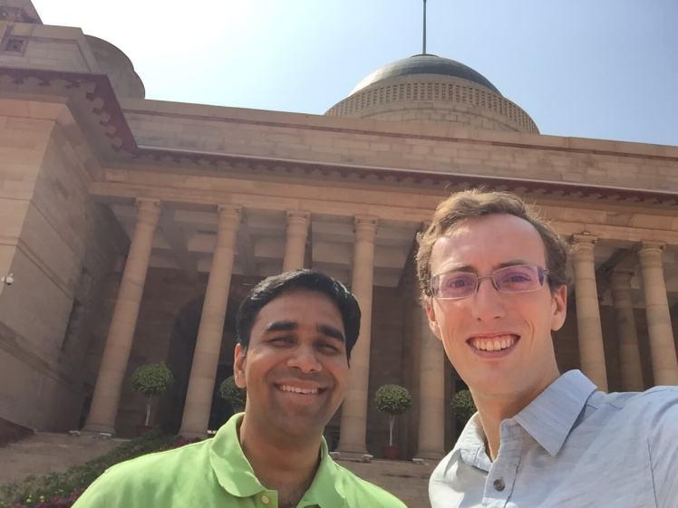 Rashtrapati Bhavan in Delhi, India