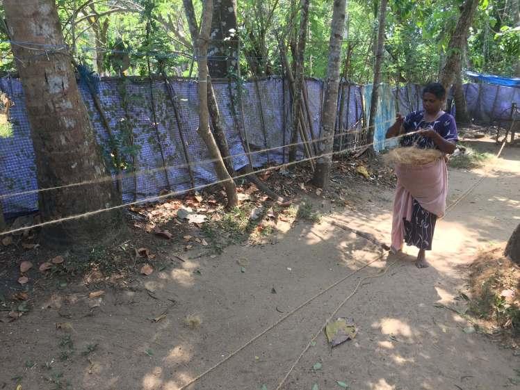 Rope-Making in Kerala, India