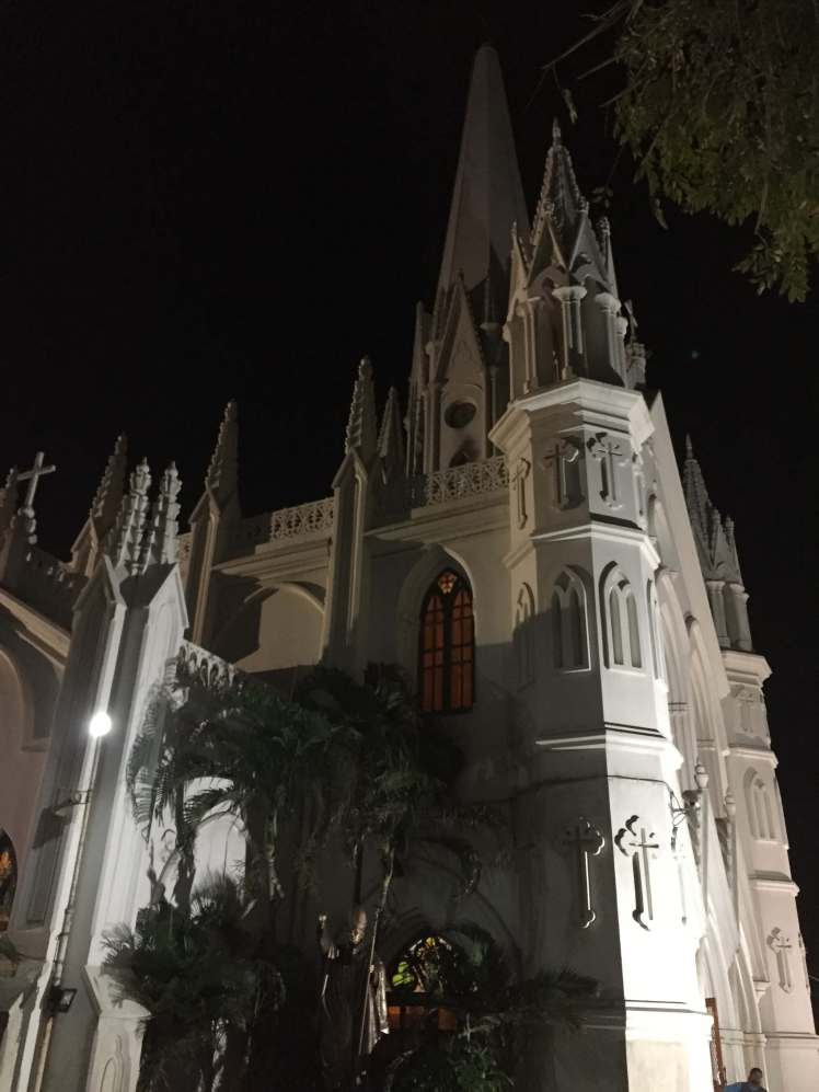 Santhome Basilica in Chennai, Tamil Nadu, India