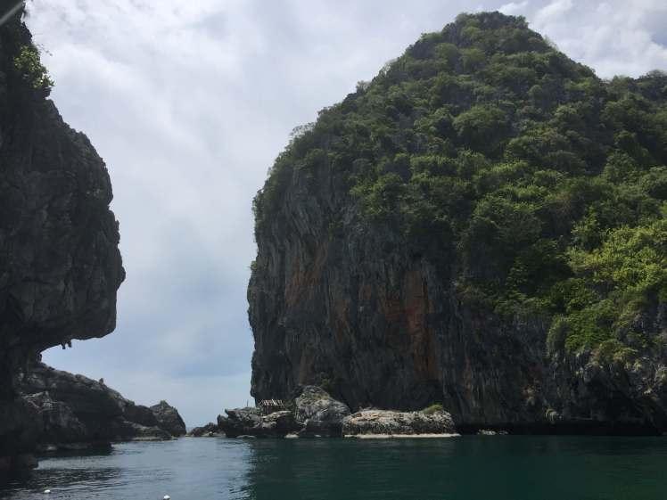 Snorkeling near Koh Lanta, Thailand