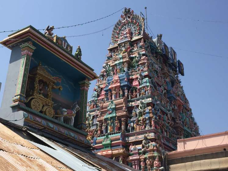 Sri Parthasarathy Temple in Chennai, Tamil Nadu, India