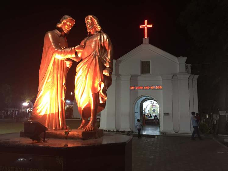 St. Thomas Mount in Chennai, Tamil Nadu, India