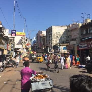 Street in Chennai, Tamil Nadu, India