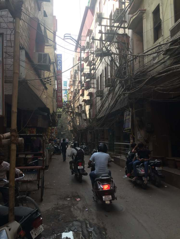 Street in Old Delhi, India