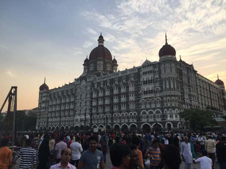 Taj Mahal Palace Hotel in Mumbai, Maharashtra, India