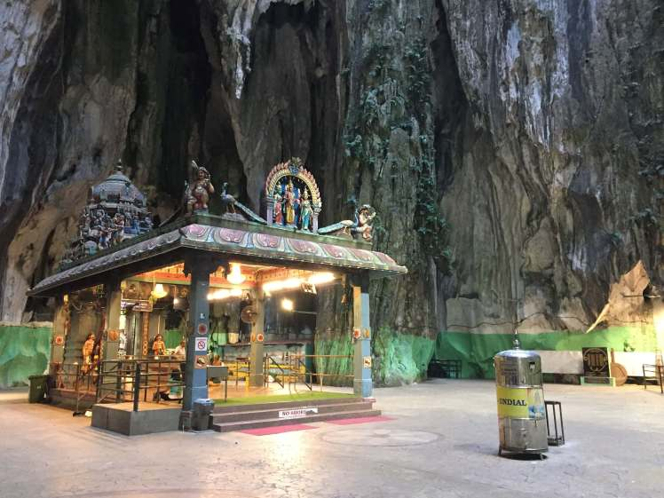 Temple Inside Batu Caves in Kuala Lumpur, Malaysia