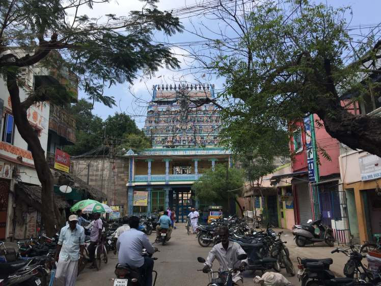 Thillai Natarajar Temple in Chidambaram, Tamil Nadu, India