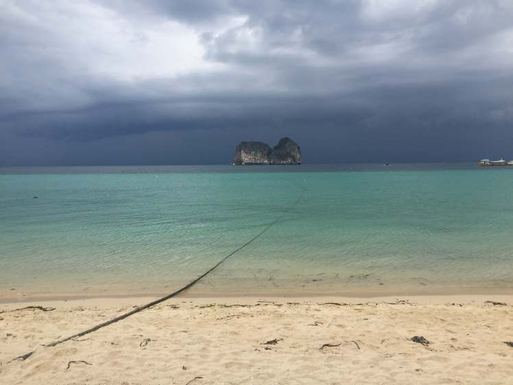 Thunderstorm on Koh Kradan, Thailand