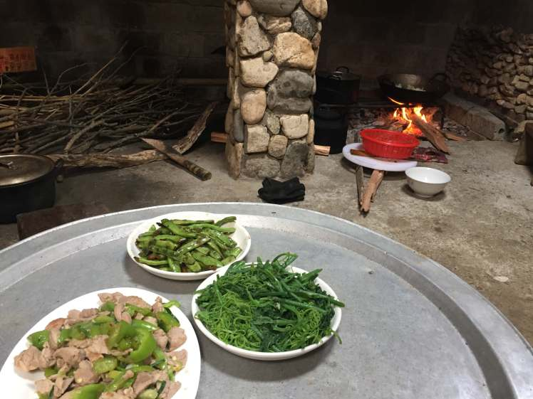 Village Lunch in Sapa, Vietnam