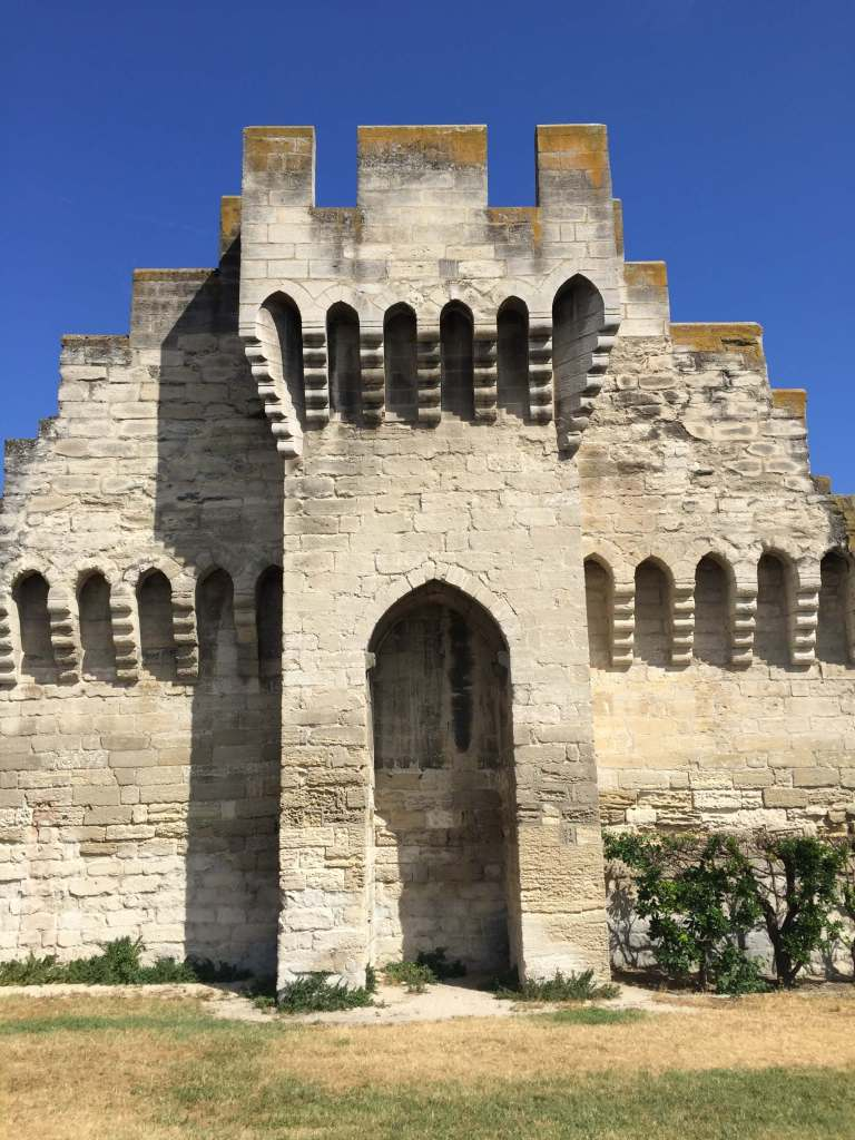 City Wall around Avignon, France