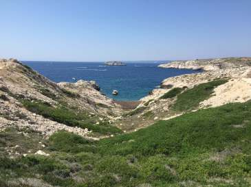 Île de Pomègues in Marseille, France