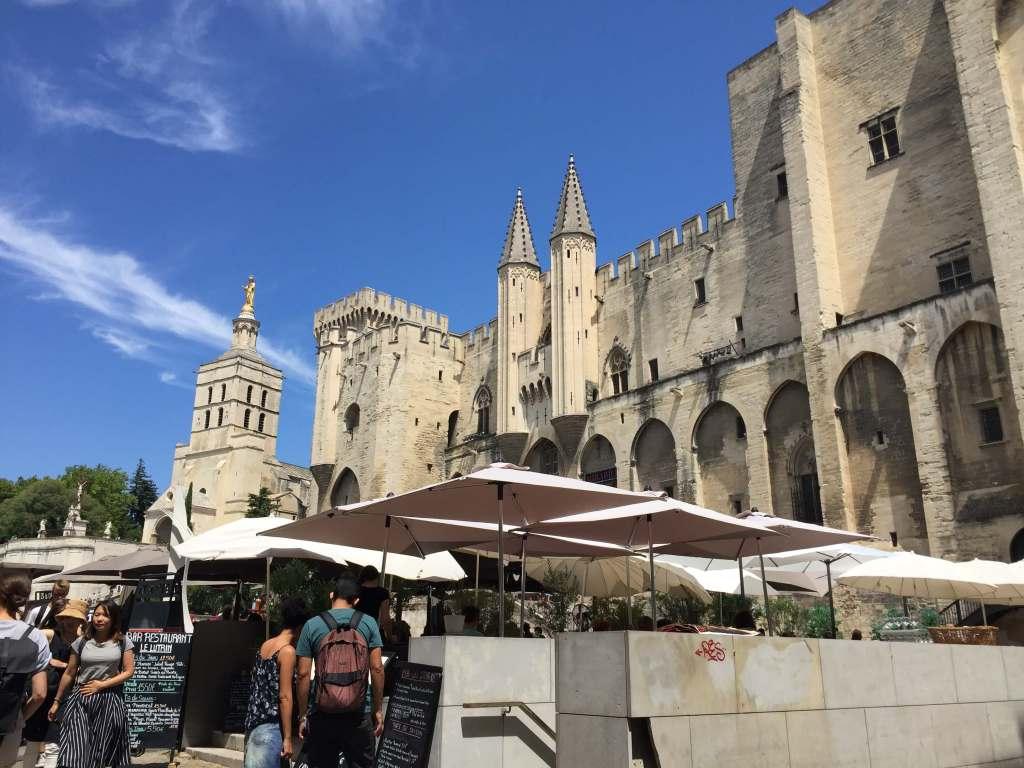 Le Palais des Papes in Avignon, France