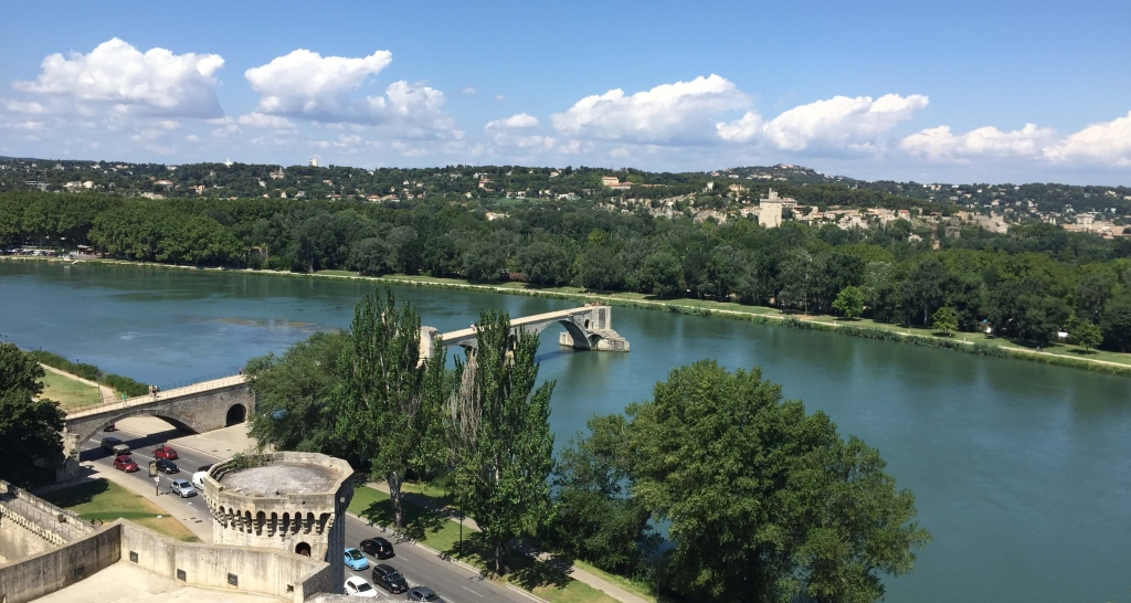 Le Pont Saint-Bénézet in Avignon, France
