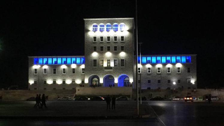 Mother Teresa Square, Tirana, Albania