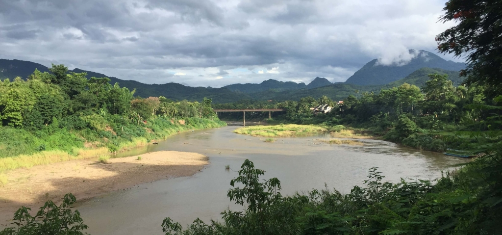 River in Luang Prabang, Laos