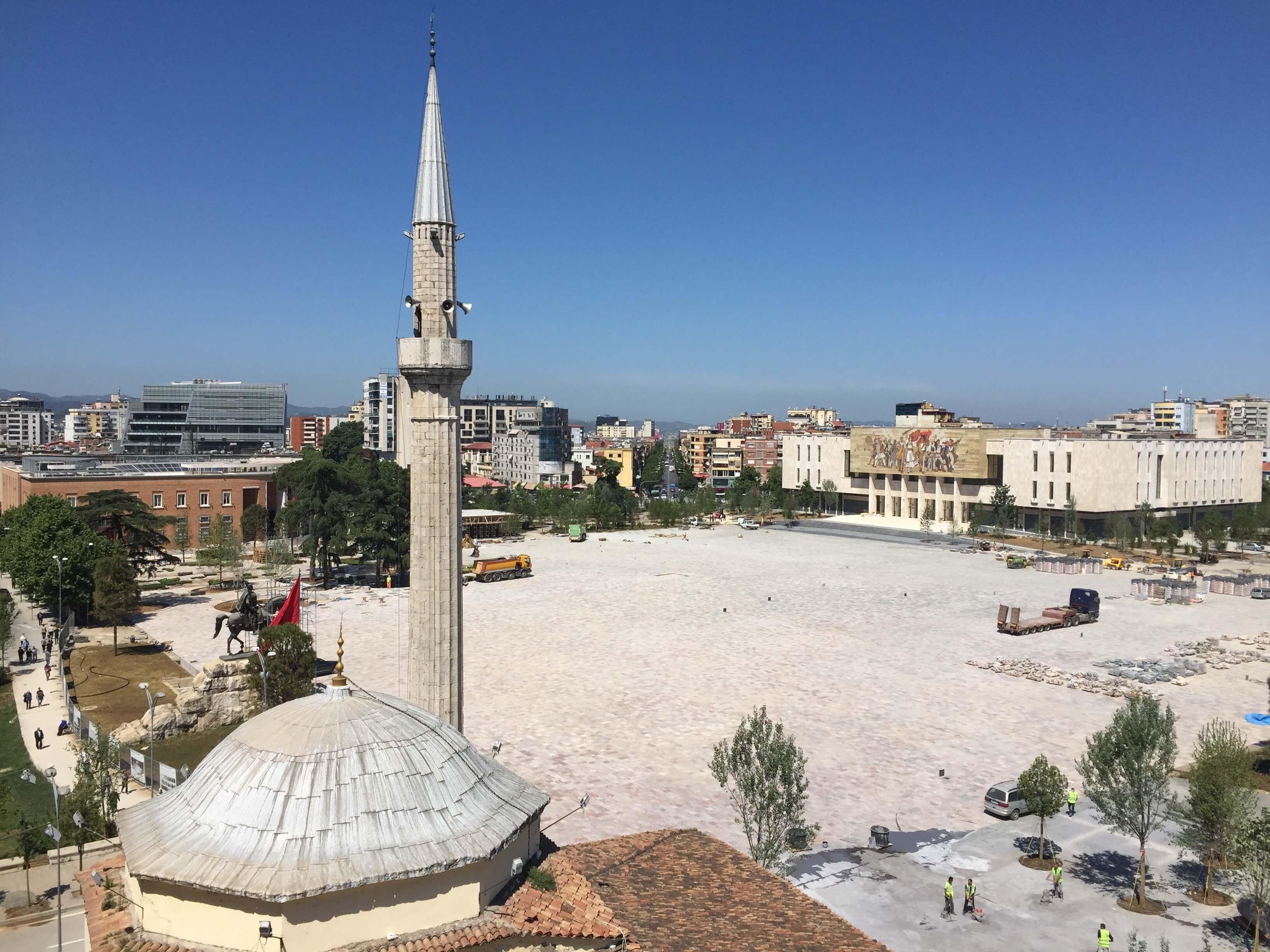 Skënderbej Square, Tirana, Albania