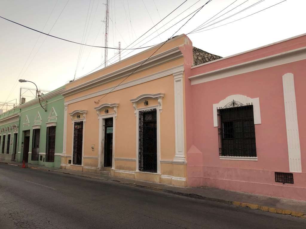 Buildings in Mérida, México