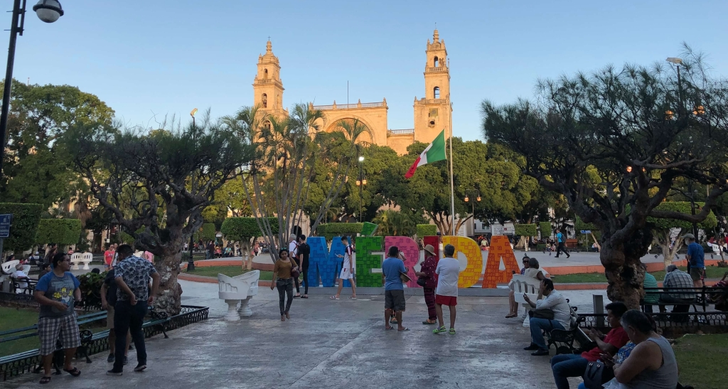 Cathedral in Mérida, México