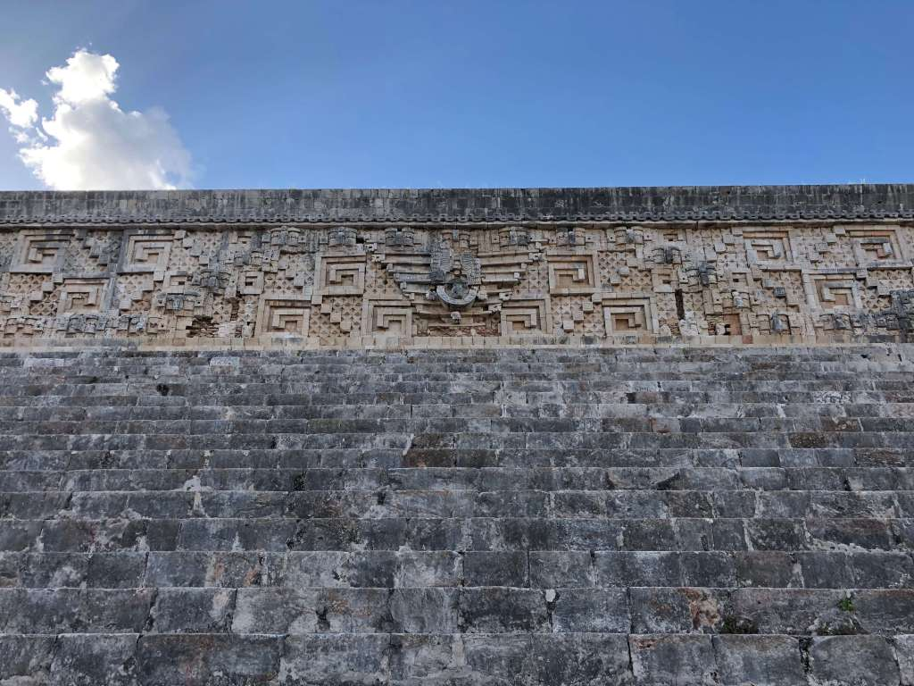 Governor's Palace at Uxmal in Yucatán, México