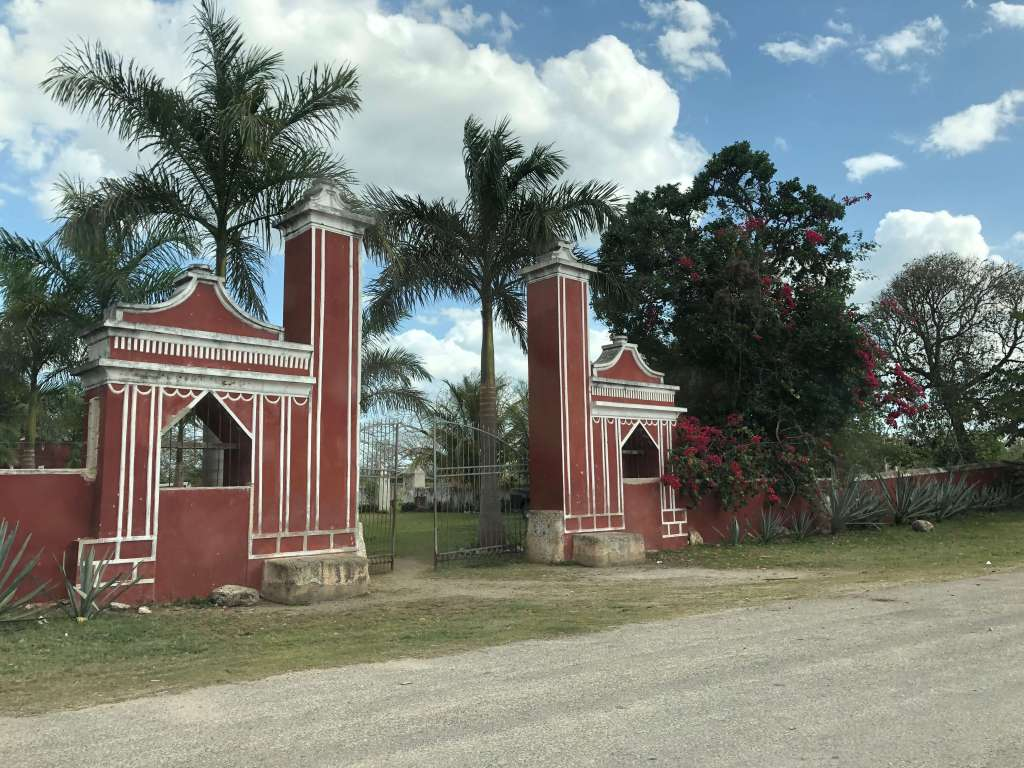 Hacienda in Pixyá, México