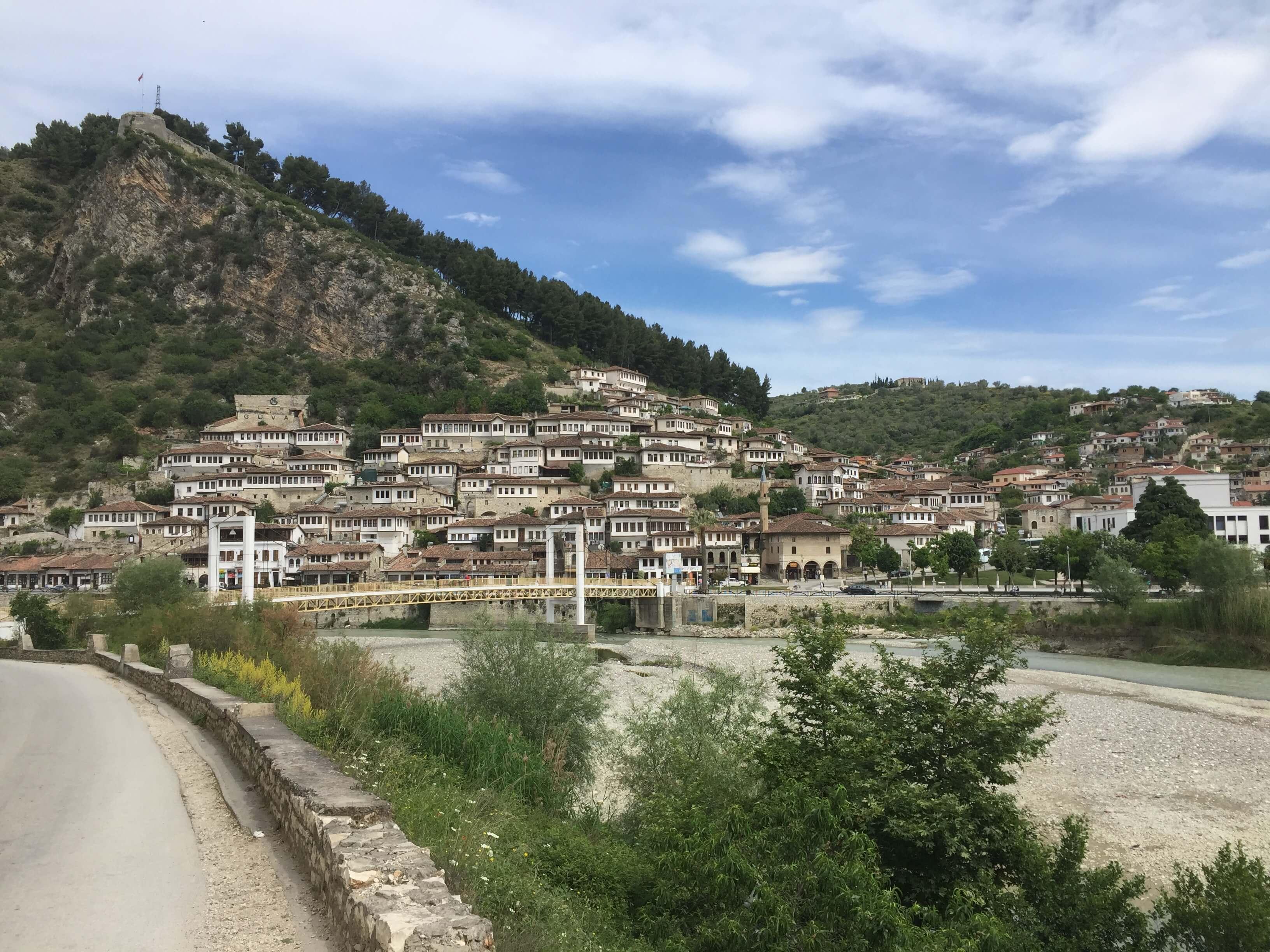 Mangalem in Berat, Albania
