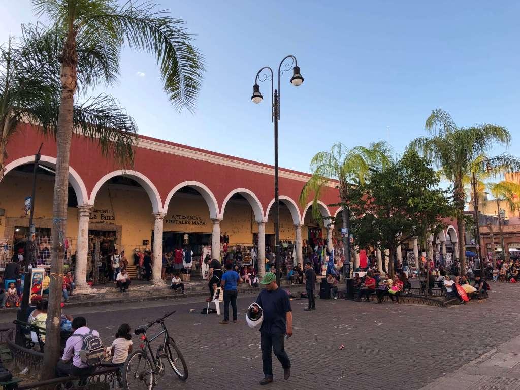 Market in Mérida, México