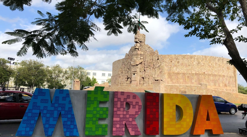 Monument to the Fatherland in Mérida, México