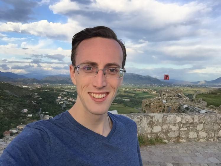 Selfie in Rozafa Castle in Shkodër, Albania