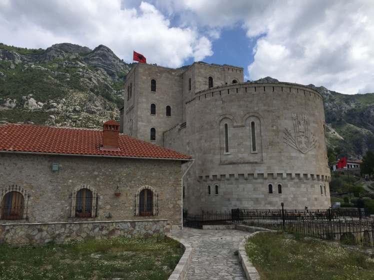 Skënderbej Museum in Krujë, Albania