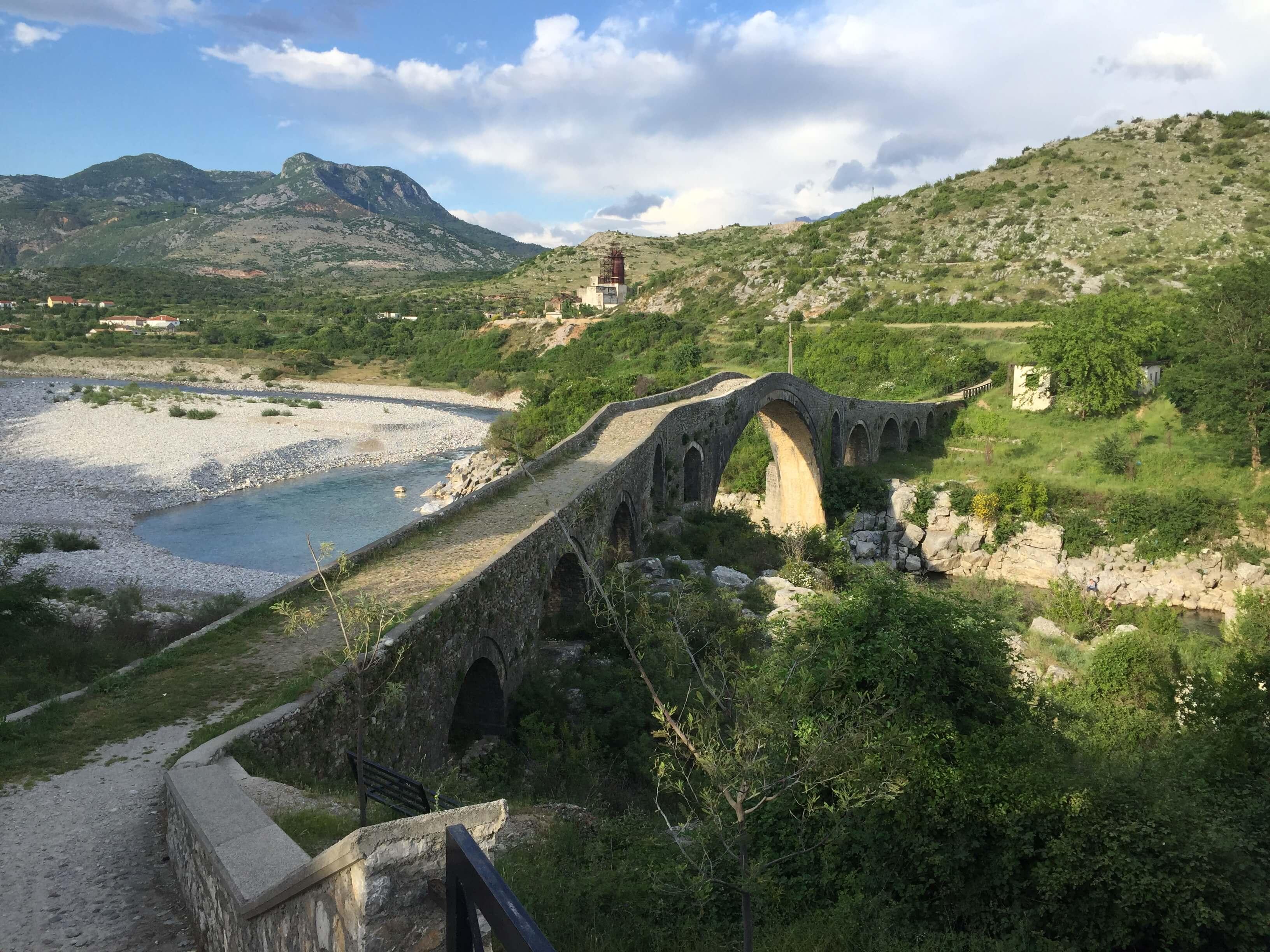 Ura e Mesit near Shkodër, Albania