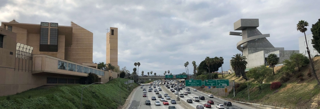 Cathedral of Our Lady of the Angels in Los Angeles, California, USA