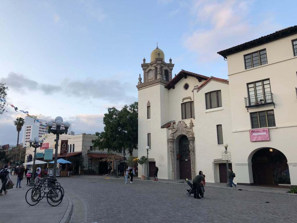 Olvera Street in Los Angeles, California, USA