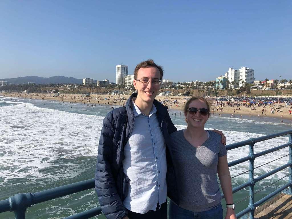 Santa Monica Pier in Santa Monica, California, USA