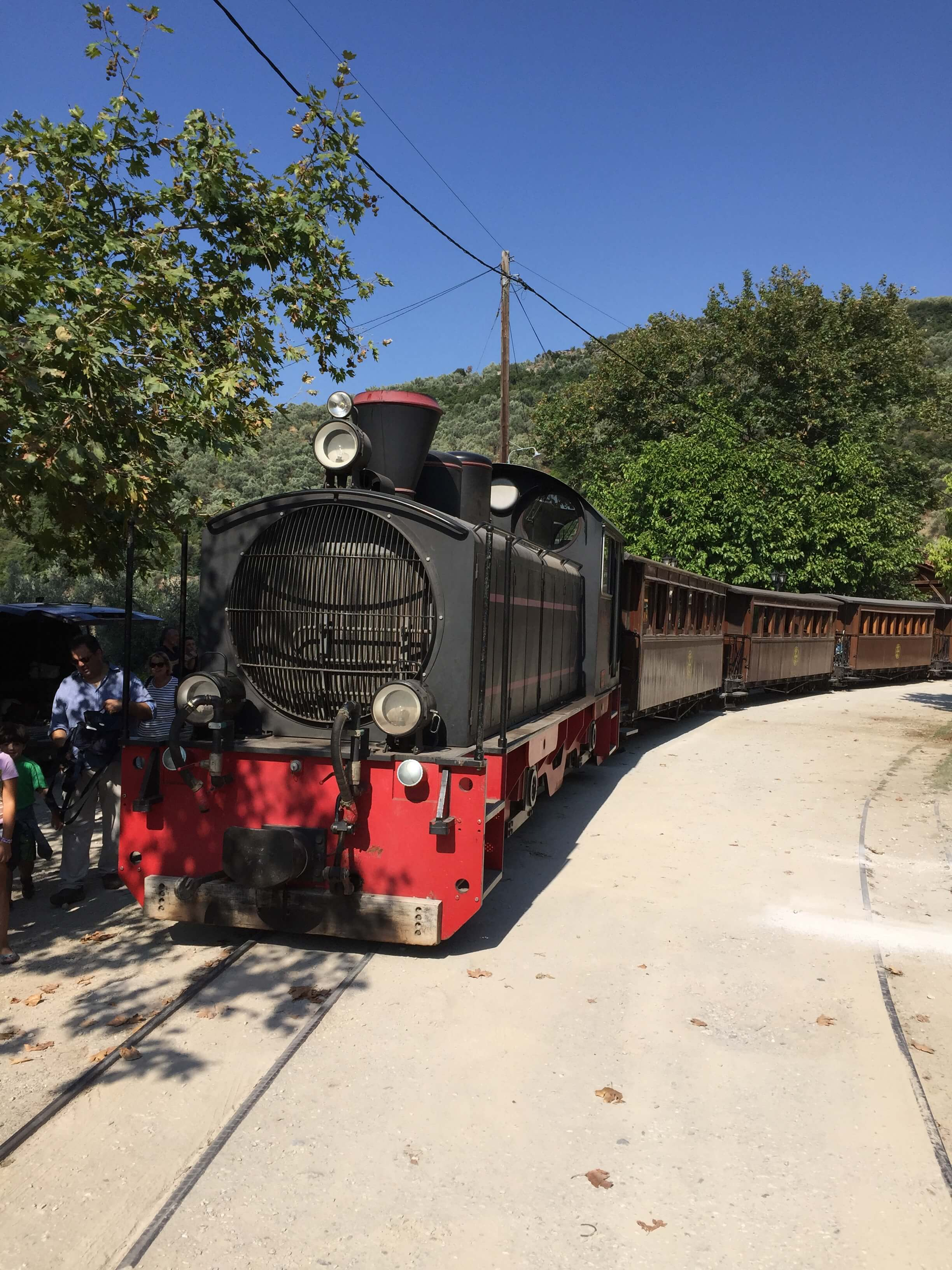 Little Train to Pelion, Magnesia, Greece