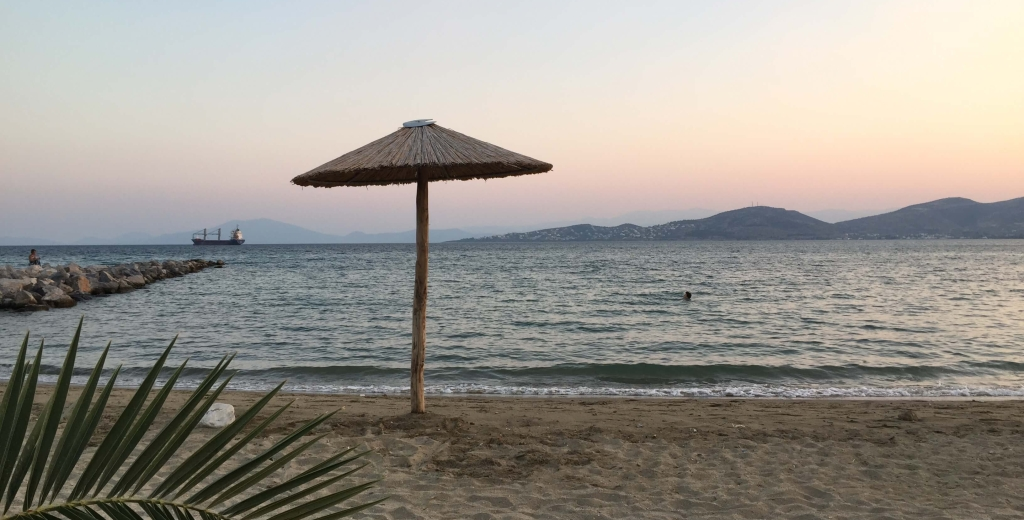 Beach in Vólos, Magnesia, Greece