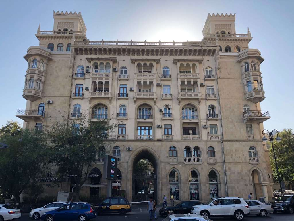 Building in Baku, Azerbaijan
