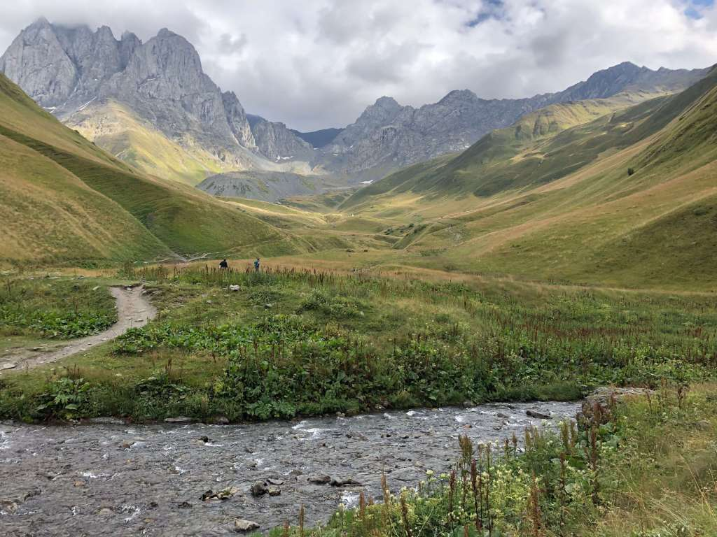 Chaukhi Massif and Juta Valley, Georgia