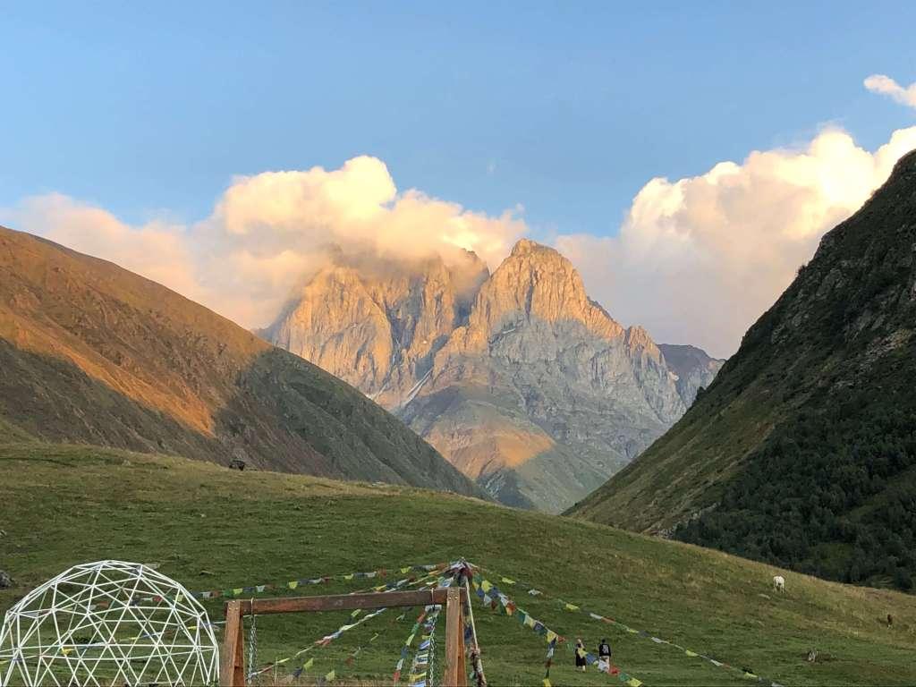 Chaukhi Massif, Kazbegi, Georgia