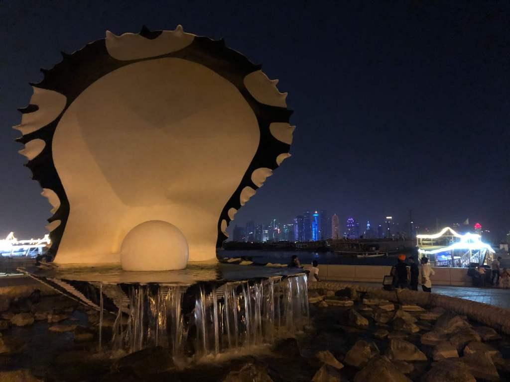The Pearl Monument, Doha, Qatar