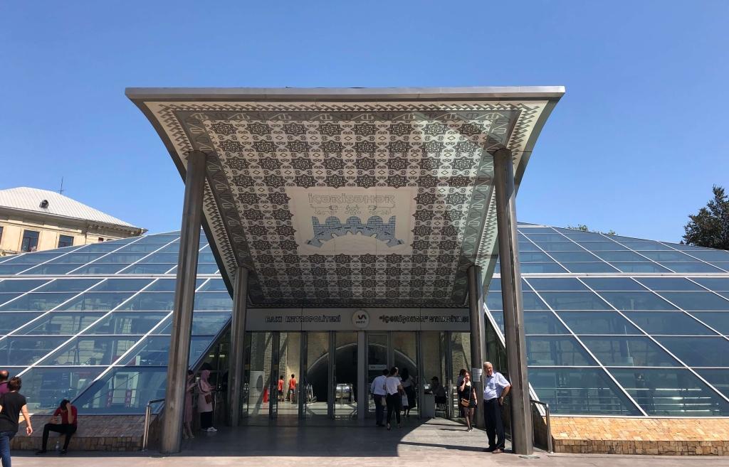 İçərişəhər Metro Station, Baku, Azerbaijan