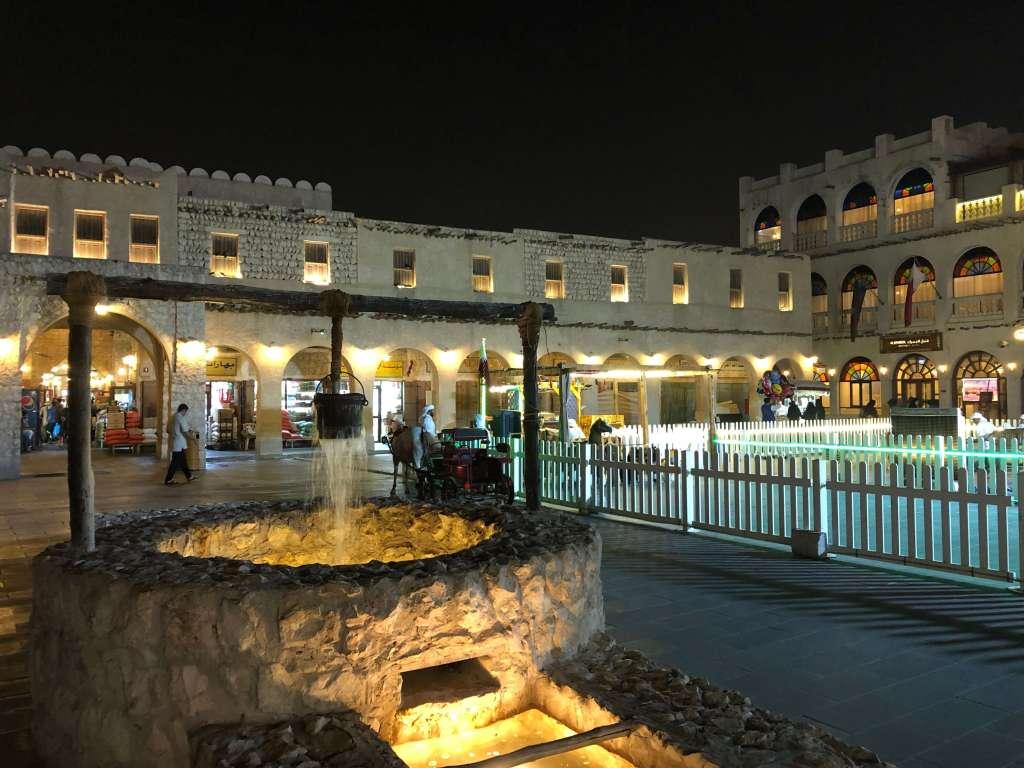 Well at Souq Waqif, Doha, Qatar