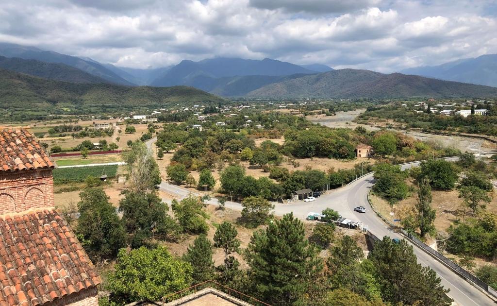 Landscape in Kakheti, Georgia